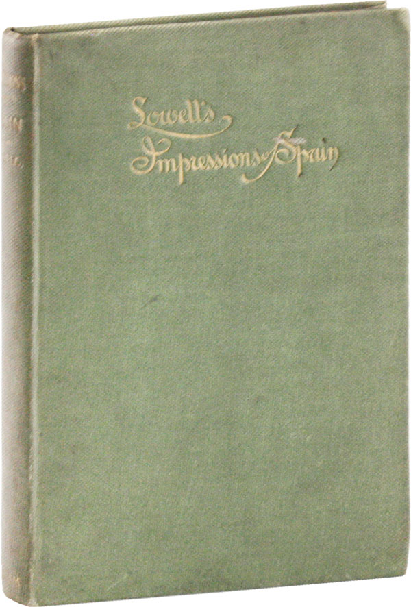 Impressions of Spain [Signed Association]. James Russell LOWELL, Joseph G. Gilder, A A. Adee, author, compiler, intro.