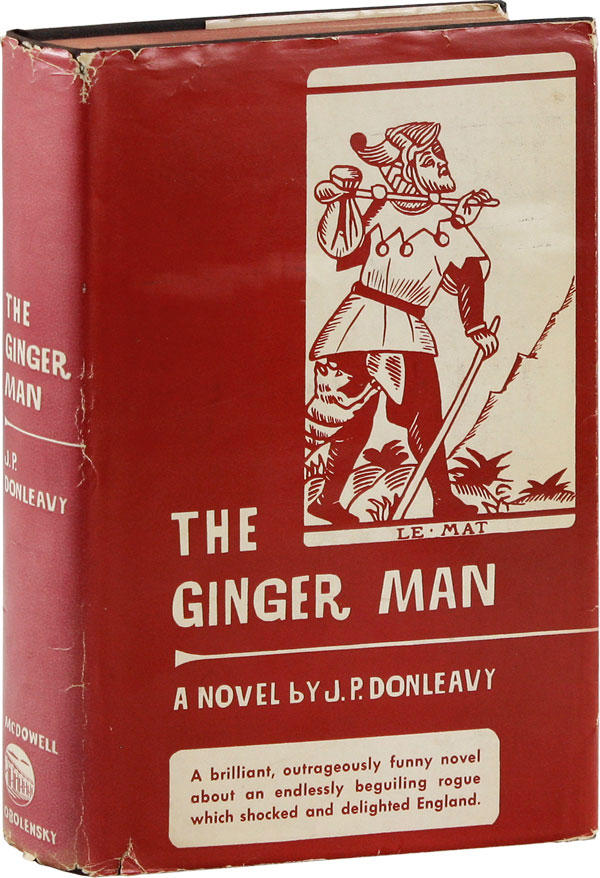 The Ginger Man [Signed bookplate laid-in]. J. P. DONLEAVY, James Patrick.