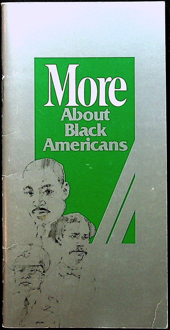More About Black Americans. AFRICAN-AMERICANA, James H. McLaughlin, William J. Rice, TOBACCO.