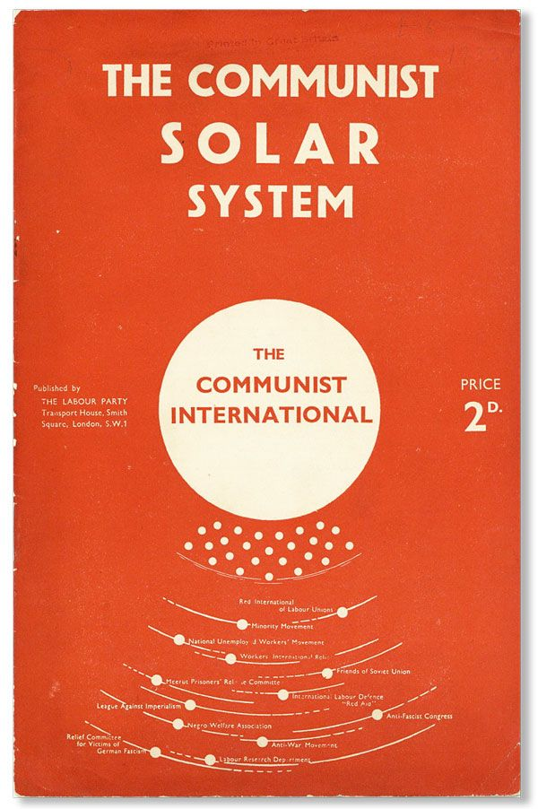The Communist Solar System. The Communist International. COMMUNIST PARTY OF GREAT BRITAIN