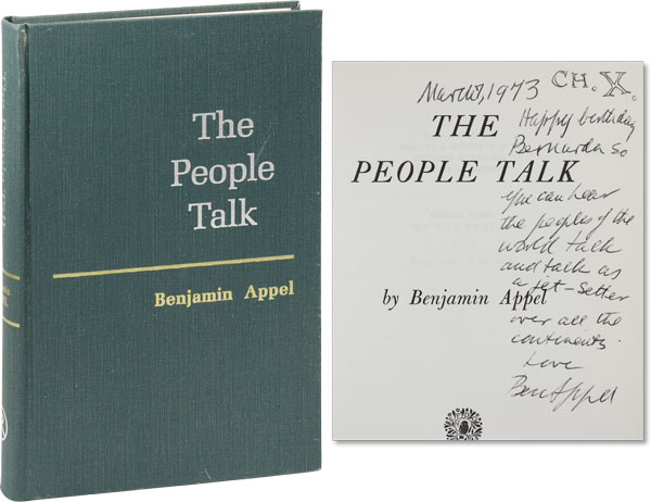 The People Talk. Benjamin APPEL.