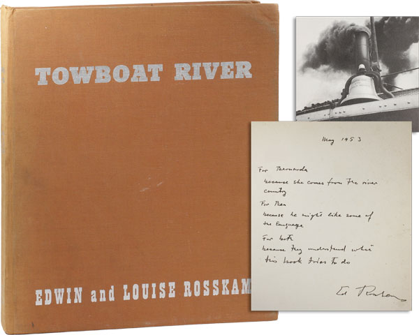 Towboat River. Edwin and Louise ROSSKAM.