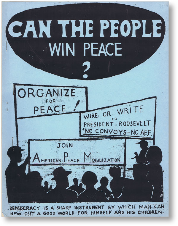 Can The People Win Peace? COMMUNIST FRONT ORGANIZATIONS, AMERICAN PEACE MOBILIZATION