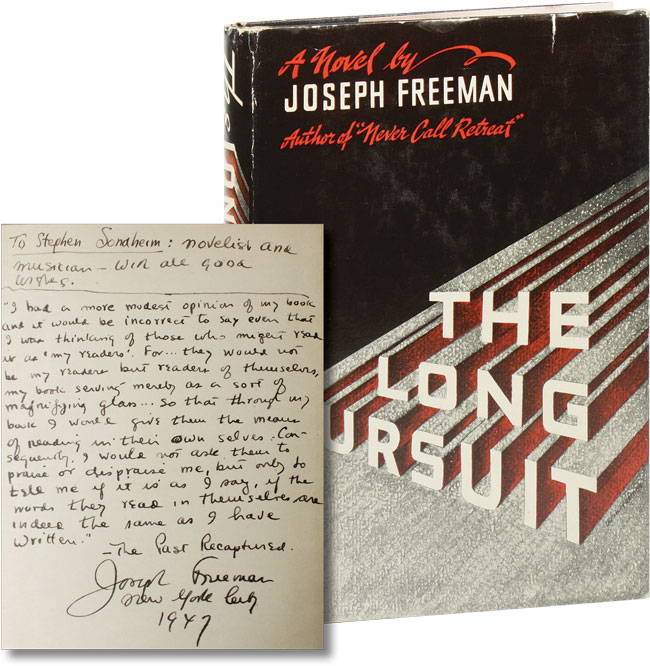 The Long Pursuit. Joseph FREEMAN.