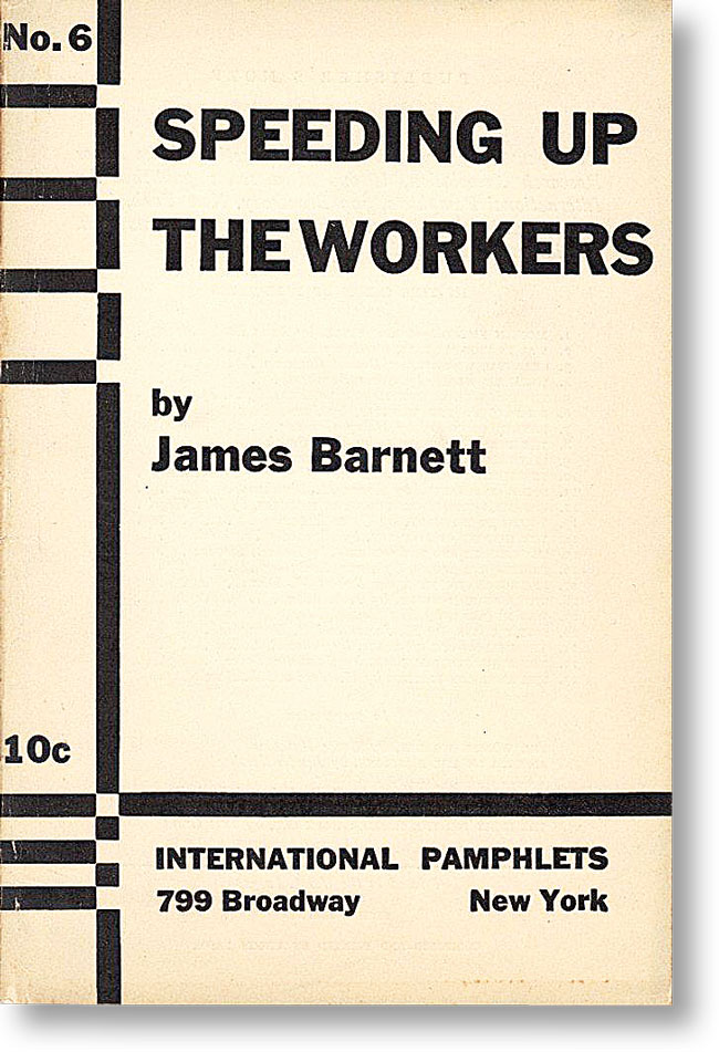 Speeding up the Workers. James BARNETT