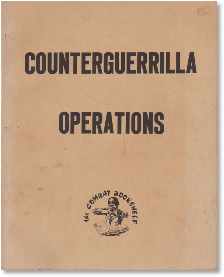 Field Manual No. 31-16: Counterguerrilla Operations. TERRORISM, COUNTER-TERRORISM