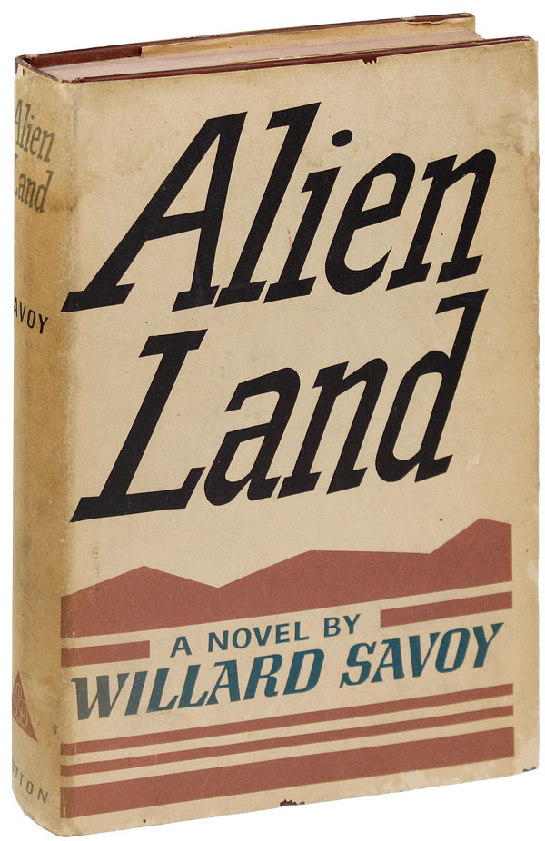 Alien Land. Willard SAVOY