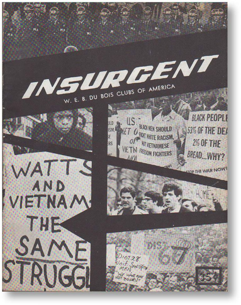 Insurgent. Vol III, no. 1 (Jan-Mar 1968)