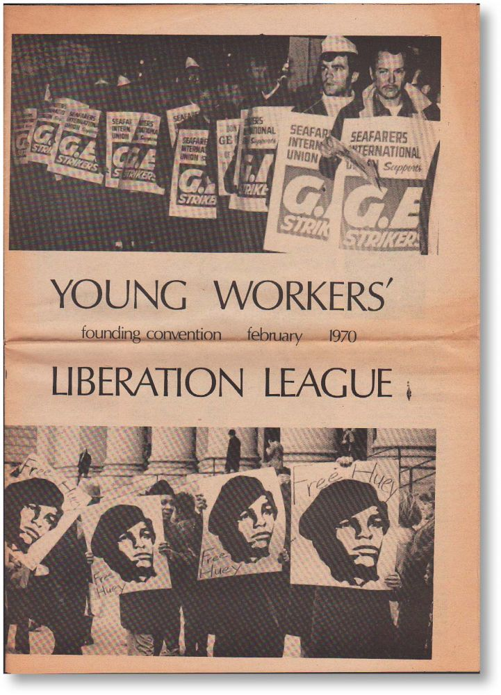 Young Workers' Liberation League - Founding Convention February 1970 (Official Program