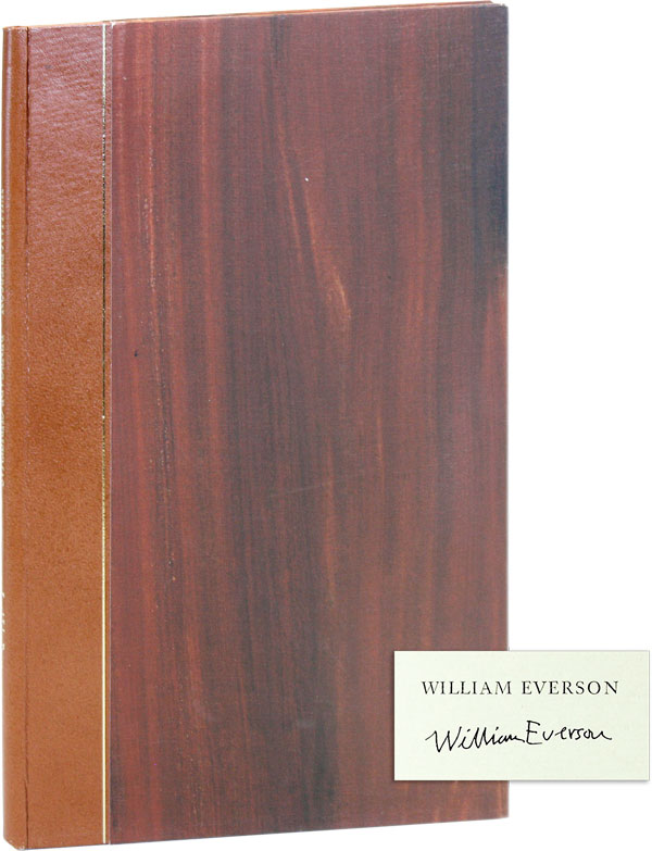 Renegade Christmas [Limited Edition, Signed]. William EVERSON