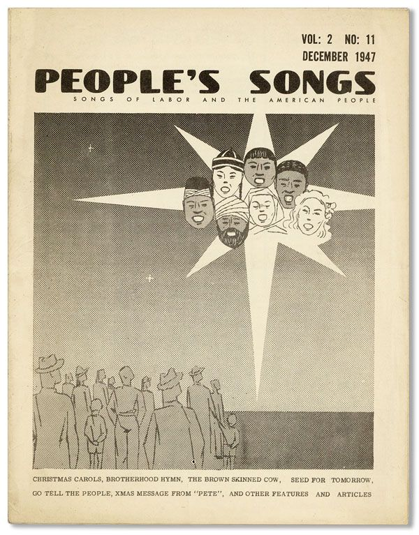 People's Songs - Vol.2, No.11 (December 1947). Pete SEEGER, Waldemar HILLE
