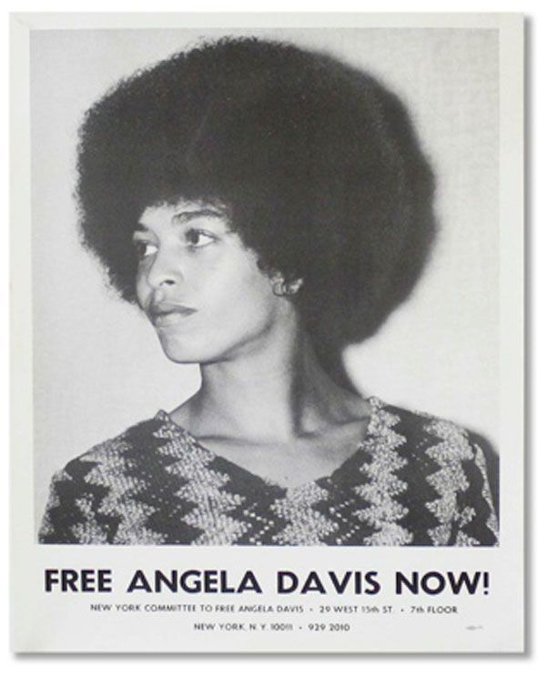 Original Poster: Free Angela Davis Now!