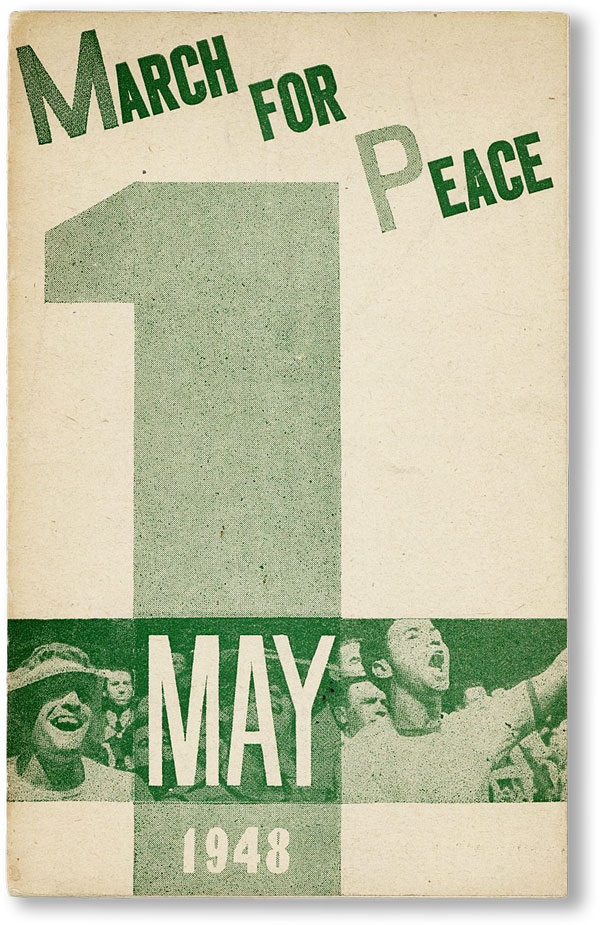 March For Peace: May 1, 1948. Fred ELLIS, illustrations