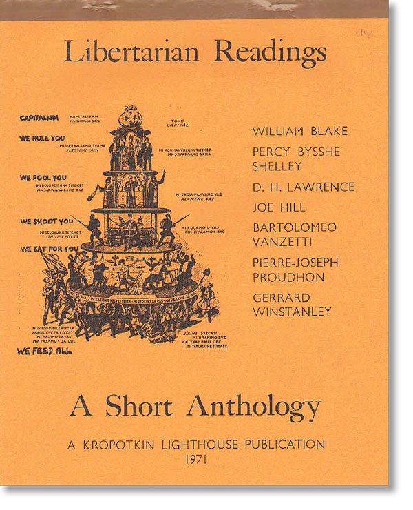 Libertarian Readings: A Short Anthology. Jim HUGGON.