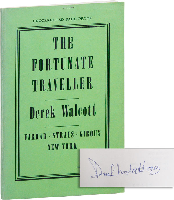 The Fortunate Traveller (Uncorrected Proof