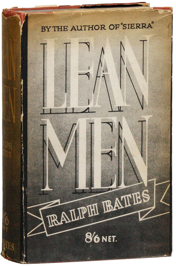 Lean Men: An Episode in a Life. Ralph BATES.