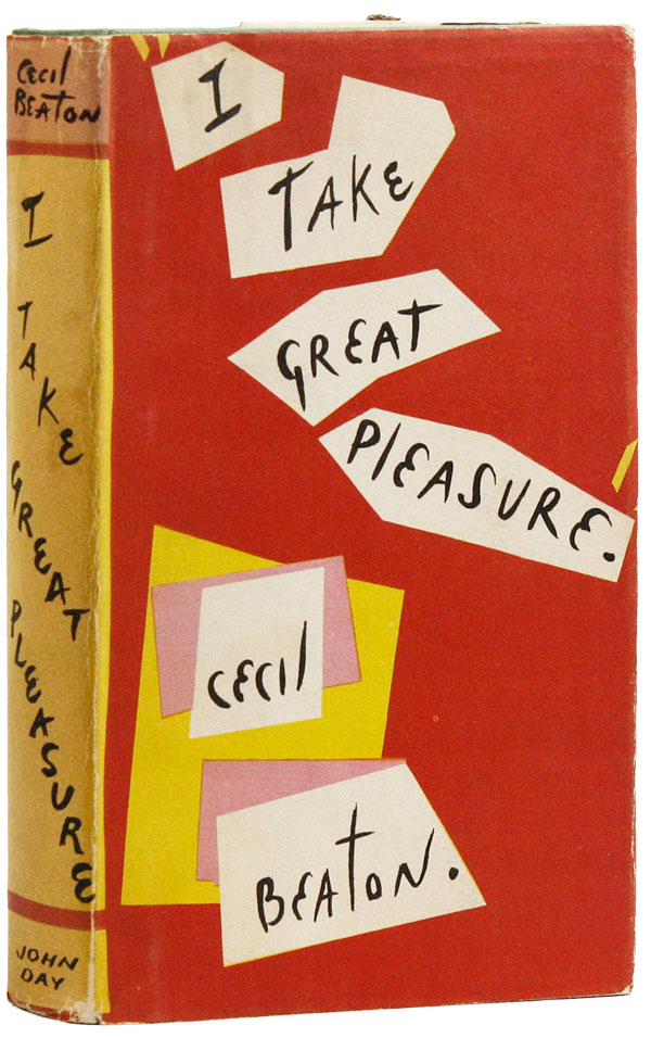 I Take Great Pleasure... [Review Copy]. Cecil BEATON.