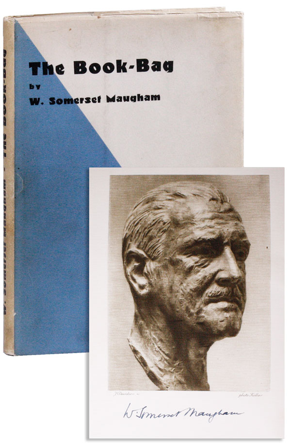 The Book-Bag [Limited Edition, Signed]. W. Somerset MAUGHAM
