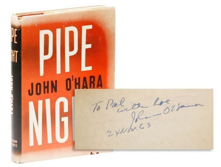 Pipe Night [Inscribed & Signed]