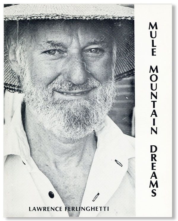 Mule Mountain Dreams [Inscribed & Signed]. Lawrence FERLINGHETTI