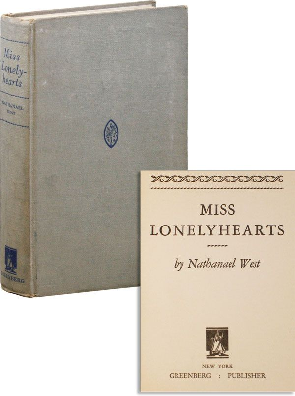 Miss Lonelyhearts. Nathanael WEST