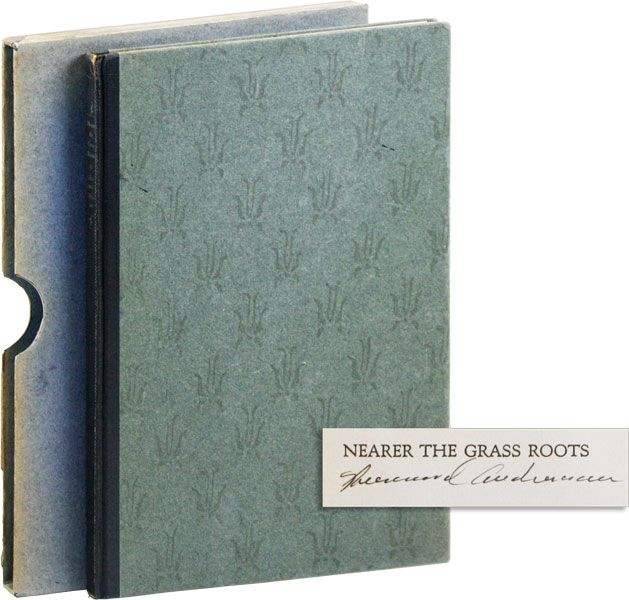 Nearer the Grass Roots ... And by the same author, an account of a journey, Elizabethton [Limited...