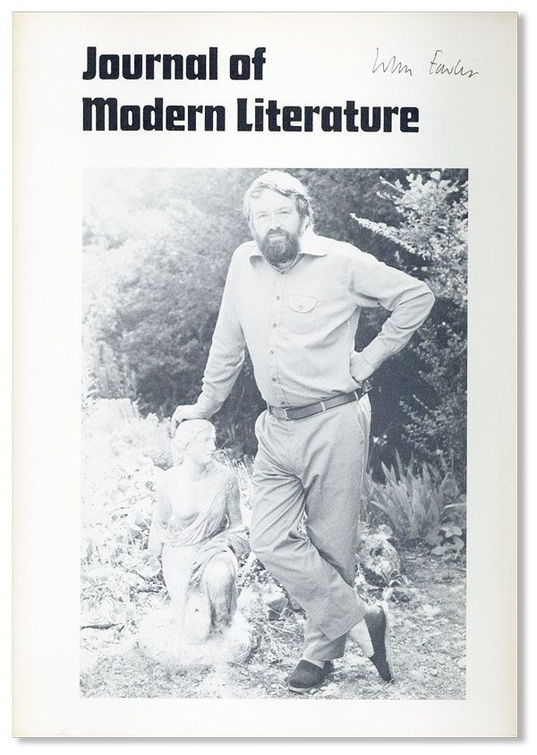 Journal of Modern Literature, Vol. 8, no. 2 1980/1981: John Fowles Special Number [Signed]. John FOWLES, Maurice BEEBE, ed.