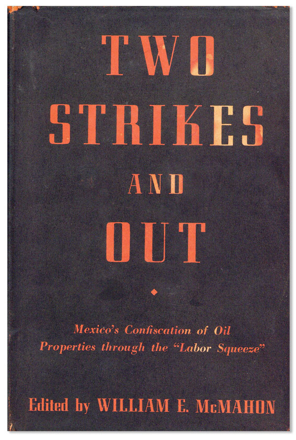 Two Strikes and Out. William E. MCMAHON, ed