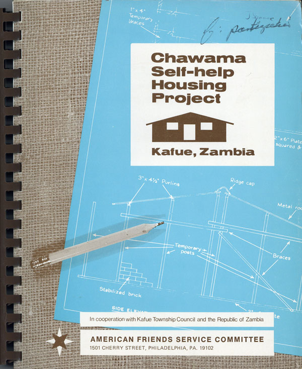 Chawama Self-Help Housing Project, Kafue, Zambia. AMERICAN FRIENDS SERVICE COMMITTEE