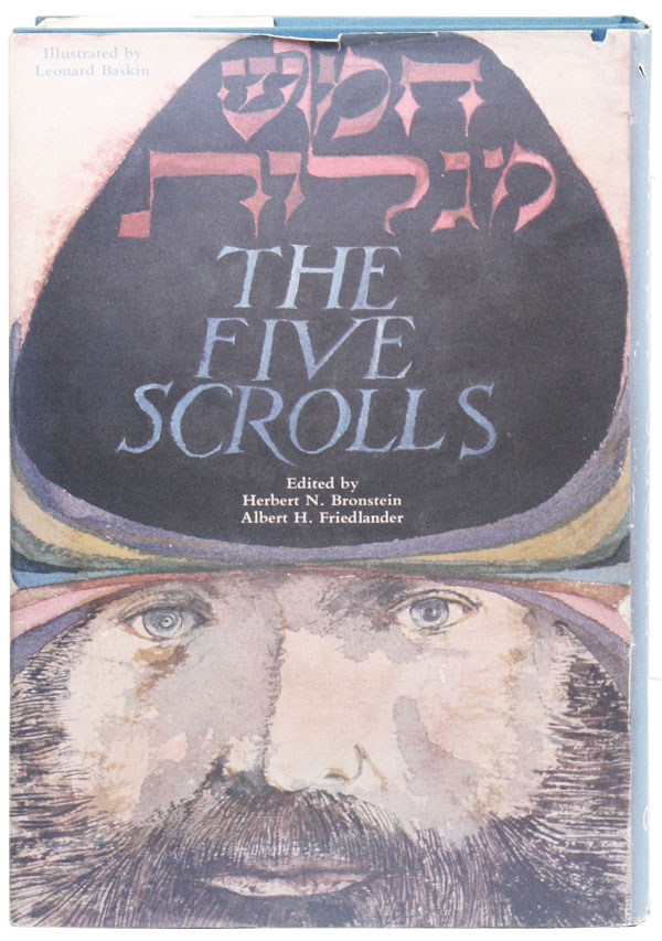 The Five Scrolls: Hebrew Texts, English Translations, Introductions, ande New Liturgies. Albert...