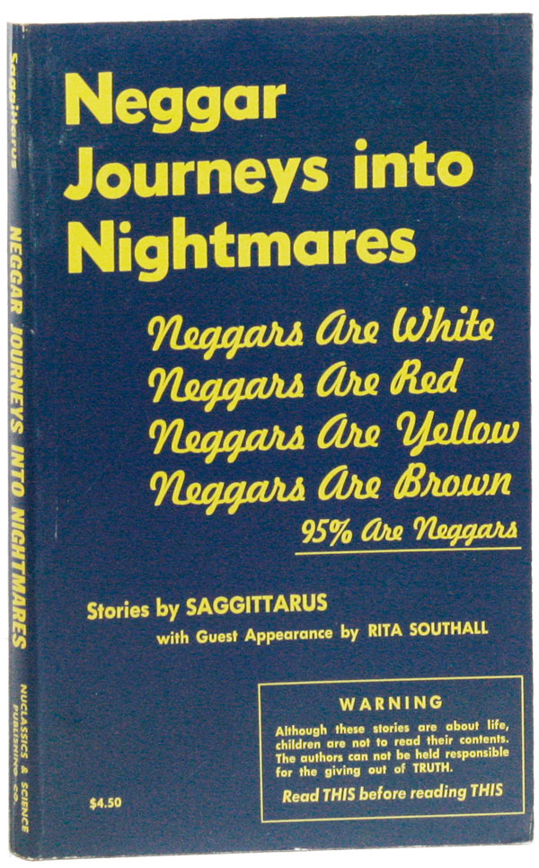"Neggar Journeys Into Nightmares. ""SAGGITTARUS"", Rita Southall, pseud. Carl Shears"