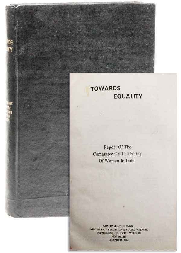 Towards Equality: Report. COMMITTEE ON THE STATUS OF WOMEN IN INDIA.