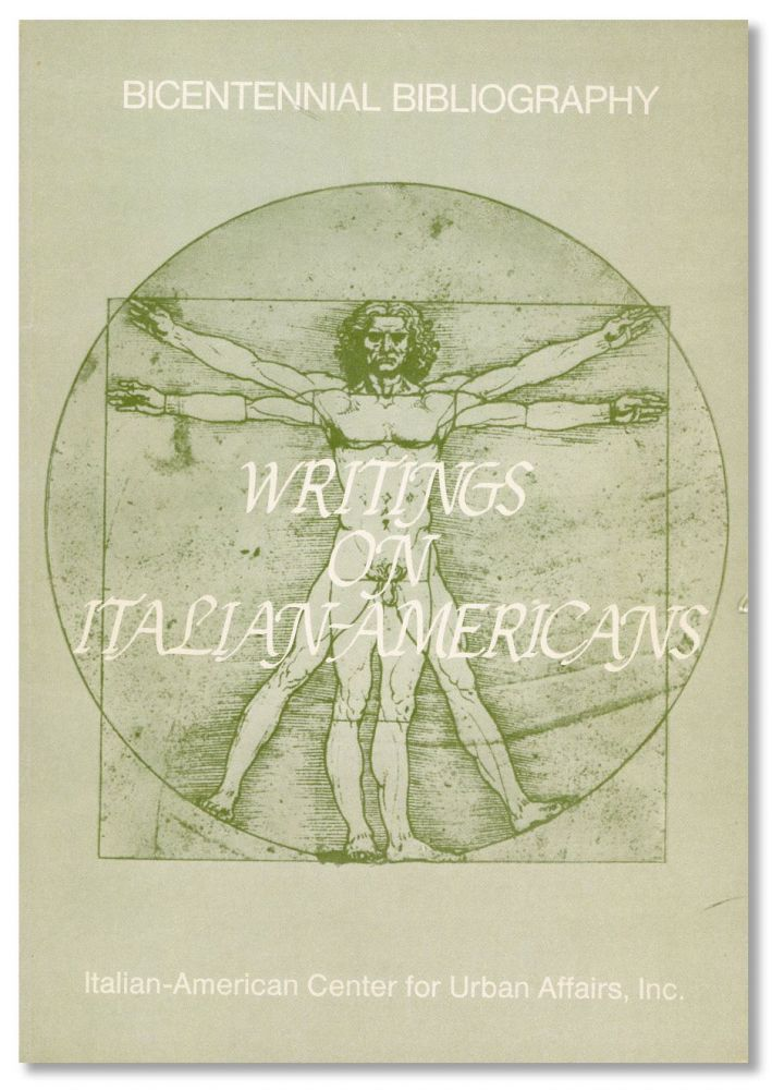 Writings on Italian-Americans. C. M. DIODATI, J. Coleman, eds J F. Valletutti