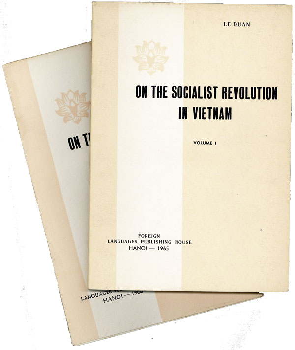 On The Socialist Revolution in Vietnam (2 volumes of 3). LE DUAN