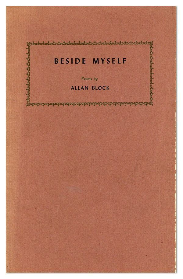 Beside Myself. Allan BLOCK