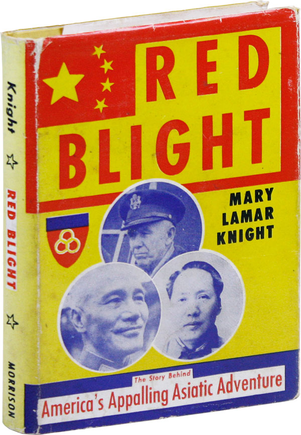 Red Blight [Inscribed, with publisher's prospectus]. RADICAL RIGHT, FASCISM