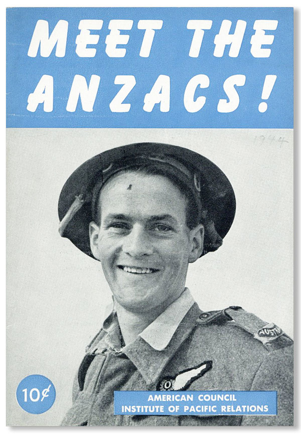 Meet the Anzacs! W. L. HOLLAND, Philip E. Lilienthal