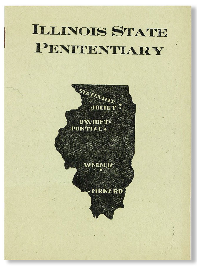 Illinois State Penitentiary [cover title]