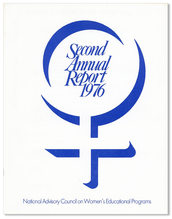 Second Annual Report, 1976 [cover title]. NATIONAL ADVISORY COUNCIL ON WOMEN'S EDUCATIONAL PROGRAMS