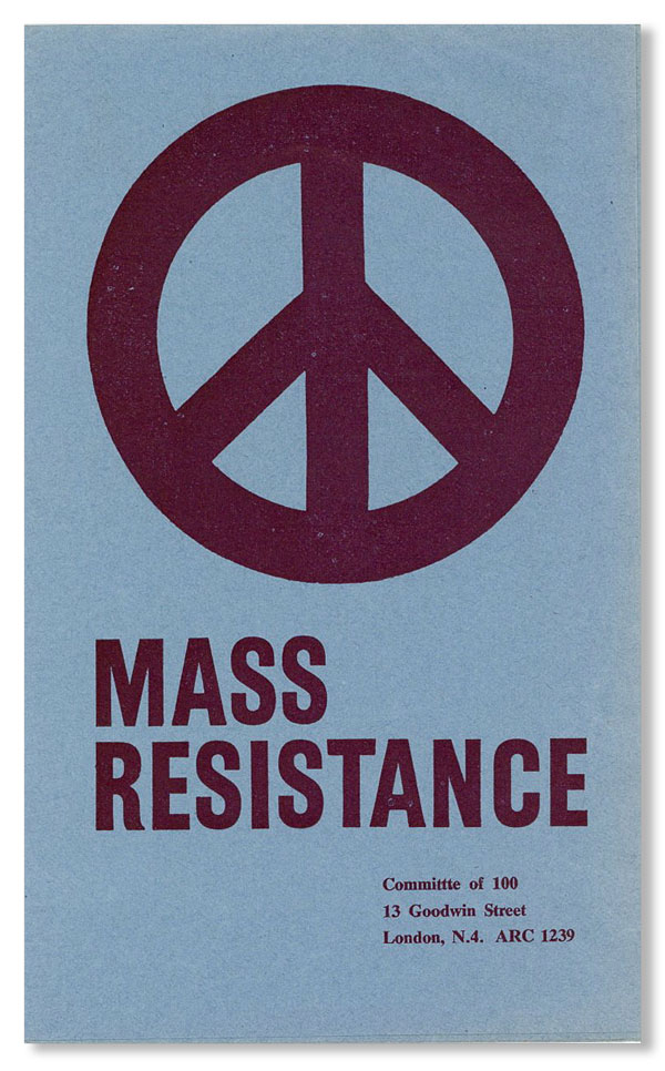 Mass Resistance [cover title]. COMMITTEE OF 100