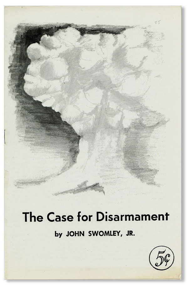 The Case for Disarmament [cover title]