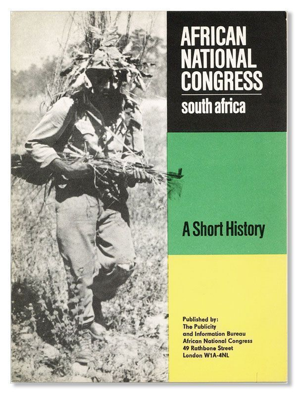 African National Congress, South Africa: A Short History. AFRICAN NATIONAL CONGRESS