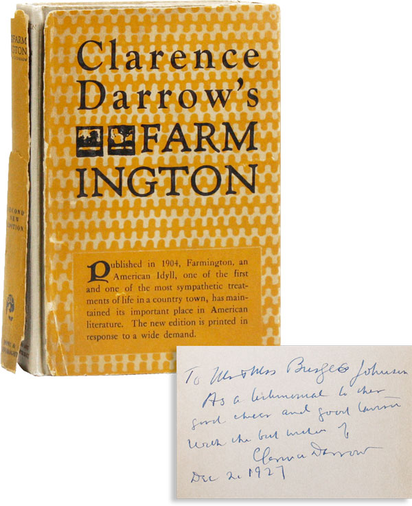 Farmington [Inscribed to Burgess Johnson]
