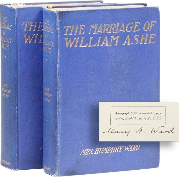 The Marriage of William Ashe [Limited Edition, Signed