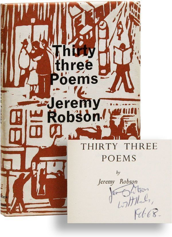Thirty Three Poems [Inscribed & Signed]