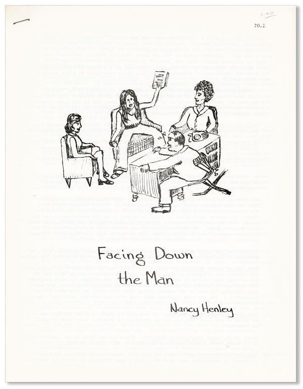 Facing Down the Man [cover title]