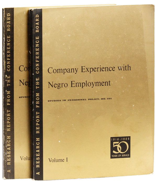 Company Experience with Negro Employment