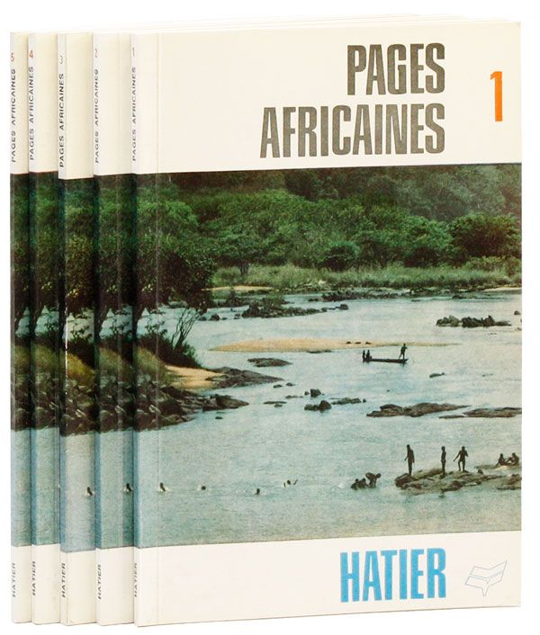 Pages Africaines 1-5 [All Published]. P. VESINET, ed.