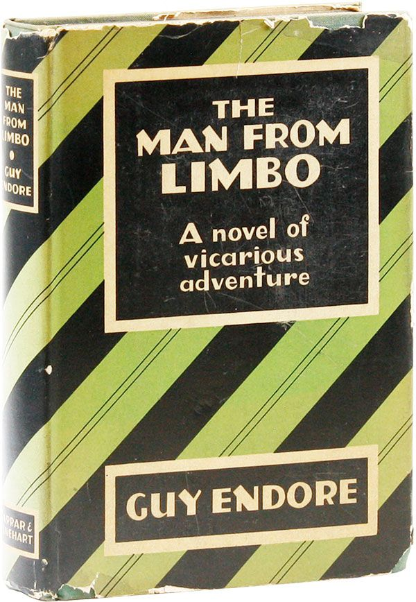 The Man From Limbo. Guy ENDORE.