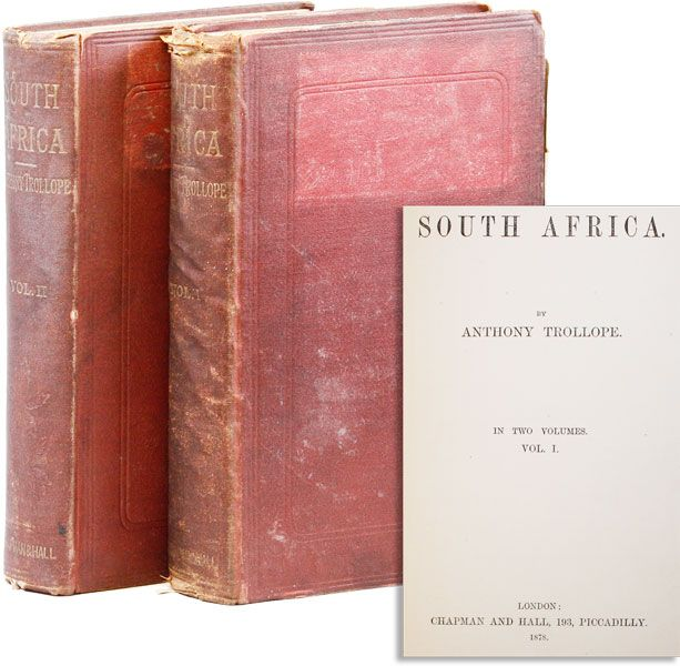 South Africa. Anthony TROLLOPE.
